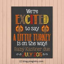 Announcing Pregnancy At Thanksgiving 94 Best Baby Shower Ideas Baby Images On Pinterest
