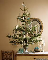 tabletop trees tinsel tree martha stewart