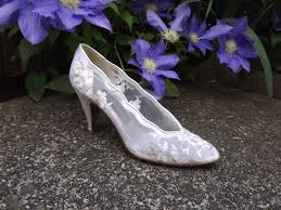 wedding shoes size 12 lace wedding shoes high heel bridal shoes floral white ivory