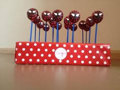 spiderman cake pops party ideas pinterest cake pop