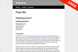 css tutorial layout template free css responsive layouts