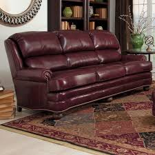 Leather Upholstery Chair Leather Upholstered Chair And Ottoman By Smith Brothers Wolf And