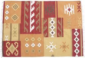 carpet area rug with tassels u2013 multicolored hand woven floor mat