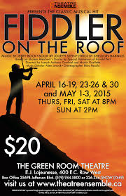 Fiddler On The Roof Synopsis by Fiddler On The Roof Windsor U0026 Essex County Events