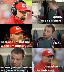 Andy Reid Meme - nfl memes on twitter new andy reid snickers commercial http t