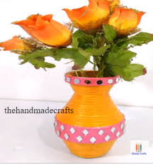 Best Out Of Waste Flower Vase How To Make Best Out Of Waste Newspaper Flower Vase The Handmade