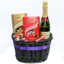 Chocolate Gift Baskets Myregalo Sweets U0026 Moet Champagne Gift Basket Manila Flower