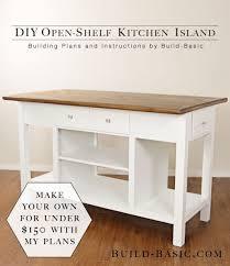 kitchen island diy plans 25 gorgeous diy kitchen islands to make your kitchen run smoothly