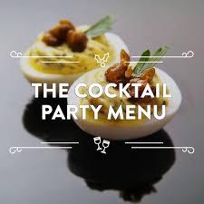 cocktail party menu serious eats