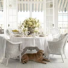 Wicker Dining Chairs Indoor Dining Rooms Ergonomic White Wicker Dining Chairs Images White