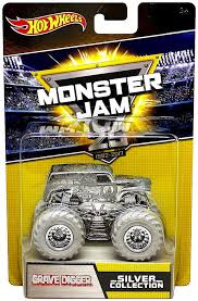 wheels monster jam grave digger truck wheels monster jam 25 silver collection grave digger 164 die