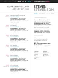 Trendy Resume Templates Free Free Resume Templates Google Docs Resume Template And