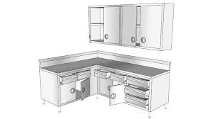 Kitchen Cabinet 3d Stainless Steel Kitchen Cabinets 3d Warehouse