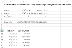 percentage calculator excel calculate the number of days between two dates using excel learn
