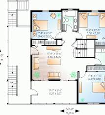 Beach Style House Plans Beach Style House Plans 1664 Square Foot Home 1 Story 3 Bedroom