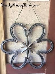 horseshoe wreath horseshoe
