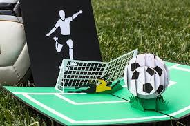 soccer guy 3d pop up card soccer player pop up card soccer
