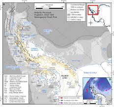 Map Of Antarctica Antarctic Peninsula Ice Sheet