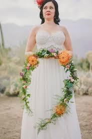 bridal garland desert flower wedding