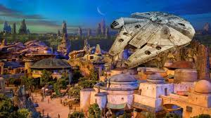 Map Of Epcot World Showcase New Star Wars Land Model Up Close At D23 Expo 2017 For Walt Disney