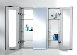 Lighted Bathroom Medicine Cabinets Medicine Cabinet Outlet Bathroom Medicine Cabinet With Mirror And
