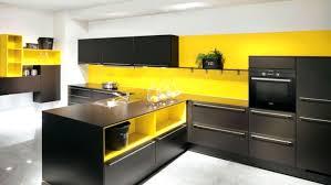 cuisine orange et noir cuisine cuisine cuisine noir la cuisine et noir