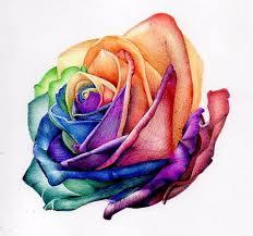 rainbow rose tattoo design best tattoo designs