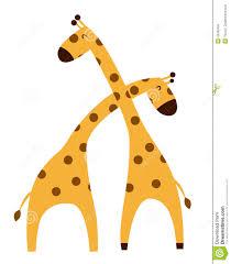 set of cartoon giraffes playing football and tennis lovestory a
