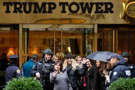 Trump Towers Address Love Him Or Him Everyone Wants A Selfie At Trump Tower New