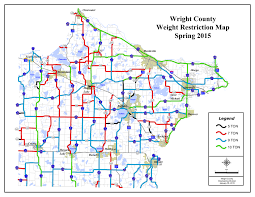 Mn Road Map Wright County Spring Road Weight Restrictions Go Into Effect Dhj
