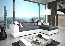 canape d angle design cuir canapé d angle neto madrid design en microfibre et simili cuir