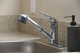 kitchen pull out faucet pull out vs pull
