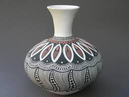 two tribes pottery pottery in stock black u0026 white patterns