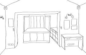 dessin de bureau cuisine