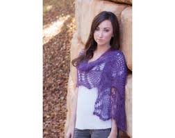 crochet wrap purple crochet wrap pattern lion brand yarn