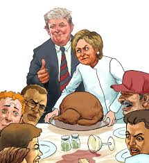 families dread thanksgiving after s election win