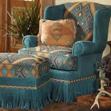southwestern chairs and ottomans southwestern chair and ottoman or can be different fabric for the