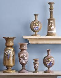 Victorian Glass Vase Victorian Bristol Glass
