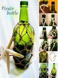 Pirate Decorations Homemade Diy Pirate Bottle Ideas Pinterest Bottle Craft And Costumes