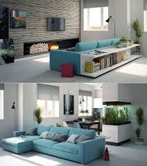 décoration canapé idee decoration salon canape bleu