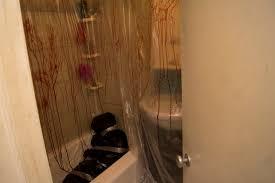 Crime Scene Bathroom Decor Murder Scene Halloween Decor 6 Steps