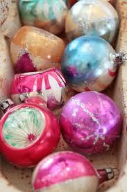 shiny and bright vintage glass ornaments southern hospitality