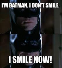 Batman Meme Generator - meme creator i m batman i don t smile i smile now