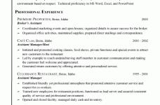 customer service resume templates free jospar