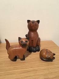 wooden cats ornaments in gloucester gloucestershire gumtree