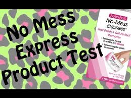nutra nail no mess express product test u0026 review youtube