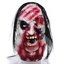 buf halloween decoration horror emulsion ghost face mask halloween