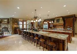 custom kitchen islands with seating 64 deluxe custom kitchen island designs beautiful throughout in