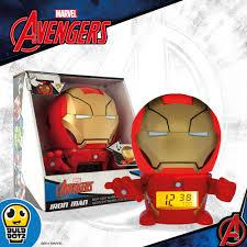 Iron Man Night Light Available Now Bulbbotz Night Light Alarm Clocks With