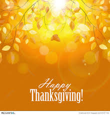 happy thanksgiving day background with shiny illustration 61977140